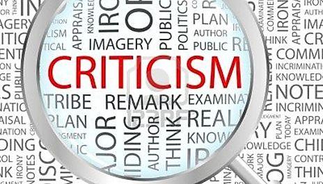 Critricism