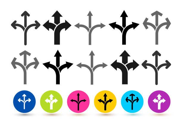 Set of flexibility icon. Vector illustration. Isolated on white background