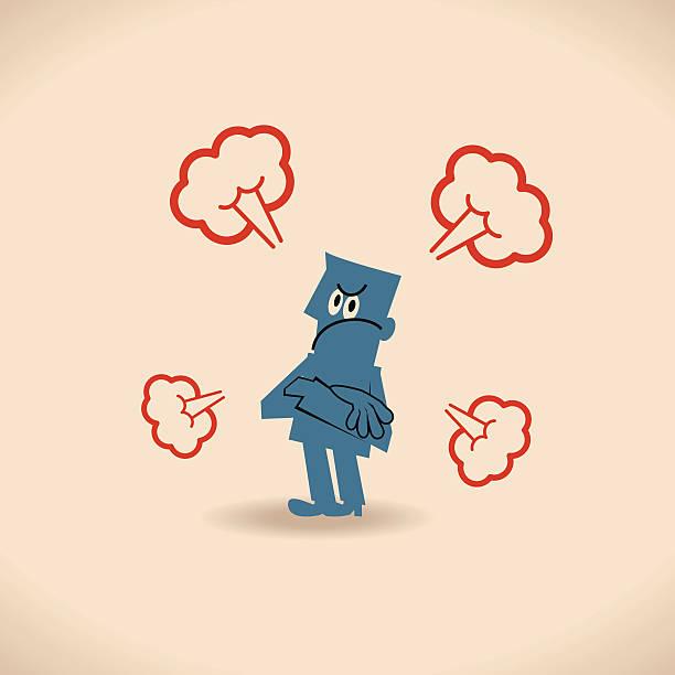 Vector illustration – Bad mood.