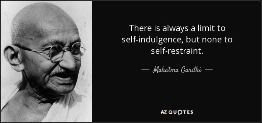 SELF-INDULGENCE